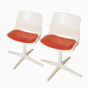 Vintage Polypropylen Stühle von Robin Day für Oveman, 1981