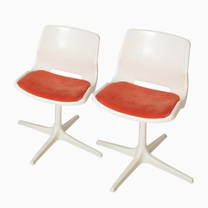 Vintage Polypropylene Chairs by Robin Day for Overman, 1981