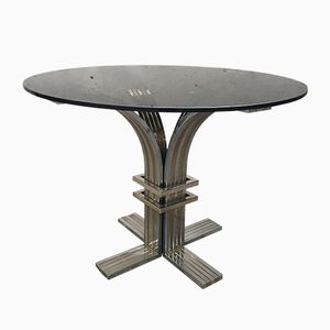 Center or Dining Table by Romeo Rega, 1970s
