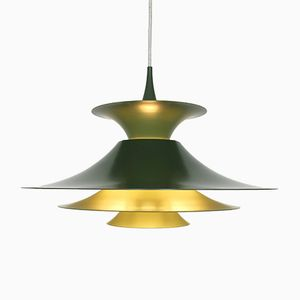 Vintage Danish Radius Pendant Light by Erik Balslev for Fog & Mørup