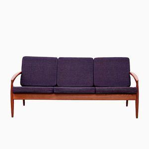 Danish Teak Model 121 Paperknife Sofa by Kai Kristiansen for Magnus Olesen, 1960s