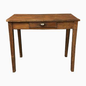 Petite Table Antique avec Tiroir, France