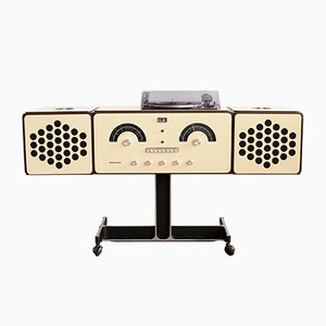 Mid-Century RR 126 White Record Player by Pier Giacomo & Achille Castiglioni for Brionvega, 1960s