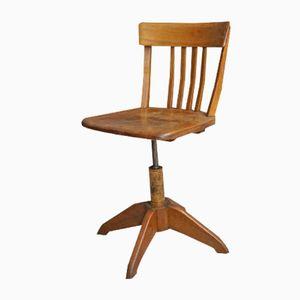 Chaise de Bureau Mid-Century Federdreh par Albert Stoll, Allemagne