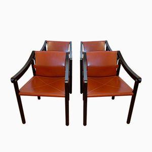 Mid-Century 905 Sessel von Vico Magistretti für Cassina, 1964, 4er Set