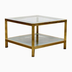 Vintage Gilded Coffee Table by Fedam, 1970s