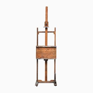 Small Adjustable Painter's Easel, 1930s