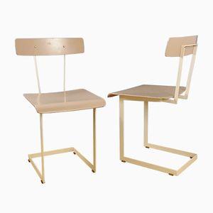 Schreibtischstühle von Auping, 1950er, 2er Set