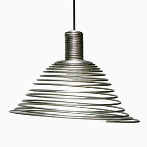 Spirale Pendant Lamp by Angelo Mangiarotti for Candle