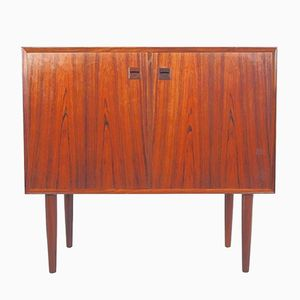 Vintage Danish Rosewood Sideboard with Two Doors