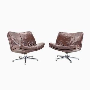 Swivel Lounge Chairs by Geoffrey Harcourt from Artifort, 1960s, Set of 2