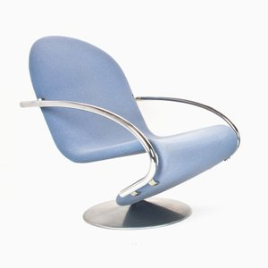 1-2-3 Swivel Chair by Verner Panton for Fritz Hansen, 1973