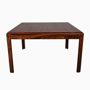 Danish Rosewood Coffee Table by Illum Wikkelso for Silkeborg, 1960s