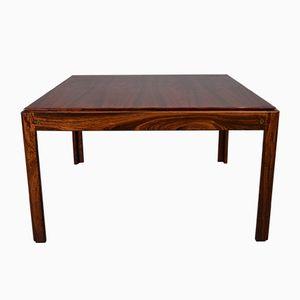 Table Basse en Palissandre par Illum Wikkelso pour Silkeborg, Danemark, 1960s
