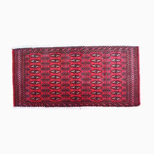 Handgeknüpfter Türkischer Vintage Tekke Teppich, 1970er