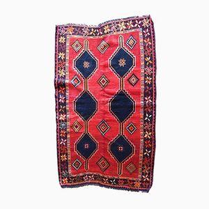 Persischer Handgeknüpfter Vintage Khamseh Teppich, 1970er