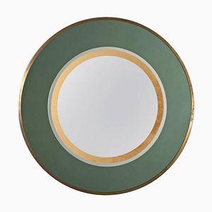 Italian Vintage Round Wall Mirror