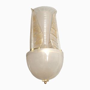 Italian Murano Glass Ceiling Light, 1970s