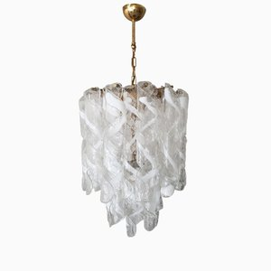 Murano Glass Chandelier from Mazzega, 1960s