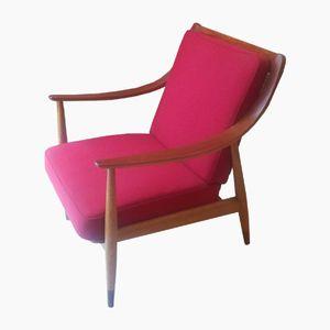 Sillón FD 147 Chair by Peter Hvidt & Orla Molgaard Nielsen for France & Søn, 1953