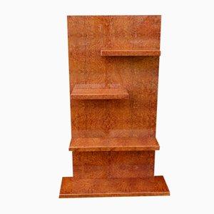 Art Déco Geometric Bookshelf, 1930s