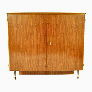 Austrian Walnut Bar Cabinet, 1950s
