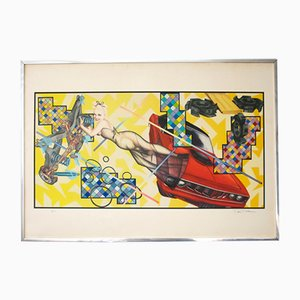 Poster Art O Matic Cidacutie di Peter Phillips per Jabik & Colophon, 1972