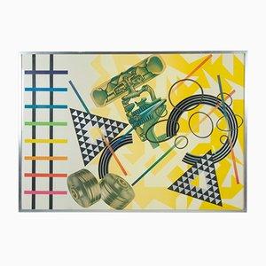 Affiche «Untitled» Multiple par Peter Phillips pour Jabik & Colophon, 1974