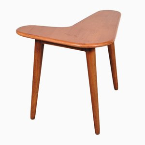 Boomerang Shaped Small Side Table, 1950s
