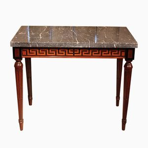 French Directoire Console Table, 19th Century