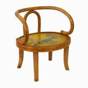 French Children's Chair from Baumann, 1931