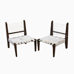 Zerlegbare Sessel von Pierre Jeanneret, 1954, 2er Set