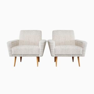 Vintage Antimott Lounge Armchairs from Walter Knoll, Set of 2