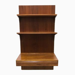 Teak Wall Unit with Desk by Poul Cadovius for Cado, 1960s