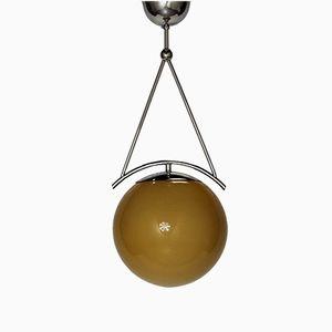 Lampe à Suspension Fonctionnaliste par Antonin Heythum, 1920s