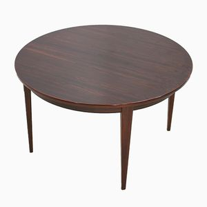Rosewood Model 55 Dinning Table by Gunny Omann for Omann Jun Møbelfabrik, 1960s