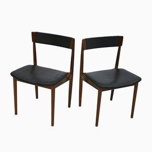 Vintage Model 39 Chairs by Henry Rosengren Hansen for Brande Møbelindustri, Set of 2