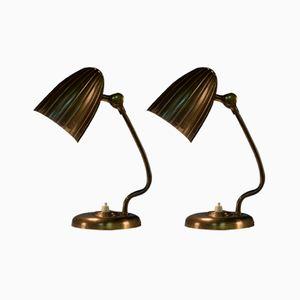 Schwedische Vintage Grace Tischlampen von Arvid Böhlmark, 1930er, 2er Set