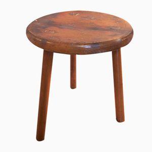 Vintage Wooden Milking Stool