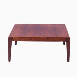 Table Basse Cubique en Palissandre, 1960s