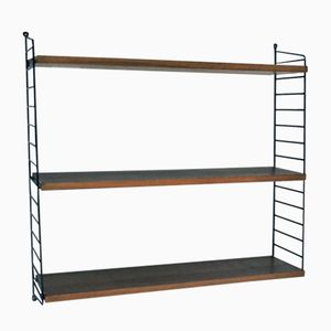 Swedish Shelving Unit by Nisse Strinning for String, 1955