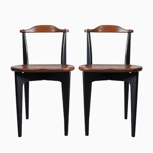 Thema Side Chairs by Yngve Ekström for Swedese, 1954, Set of 2
