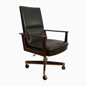 Chaise de Bureau en Palissandre de Rio par Arne Vodder, 1960s