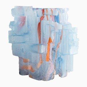 Amerikanisches Assemblage Glasgefäß von Thaddeus Wolfe, 2017