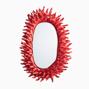Spiky Wall Mirror from Katie Stout, 2017