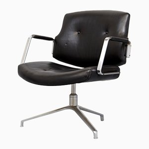 Mid-Century FK84 Office Chair by Jørgen Kastholm & Preben Fabricius for Kill International