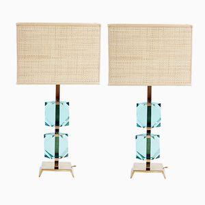 Lampes de Bureau de Vistosi, 1960s, Set de 2