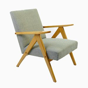 Fauteuil Mid-Century Gris d'Obornickie, 1960s