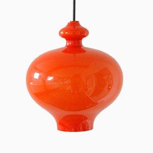 Lampe à Suspension Vintage en Verre par Hans Agne Jakobsson AB Markaryd, Suède