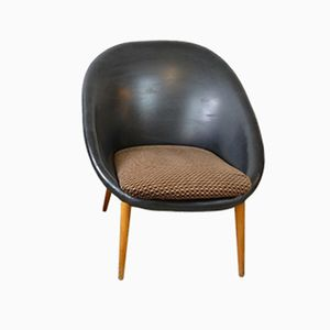 Chaise Coque Mid-Century, Allemagne, 1960s